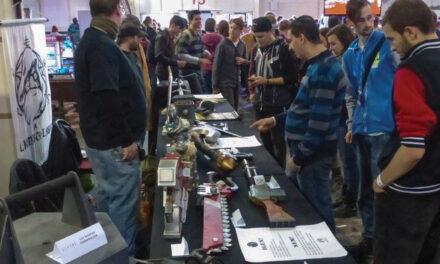 Fegyver kiállítás és XPS workshop az Alkimista Laborral a PlayITen