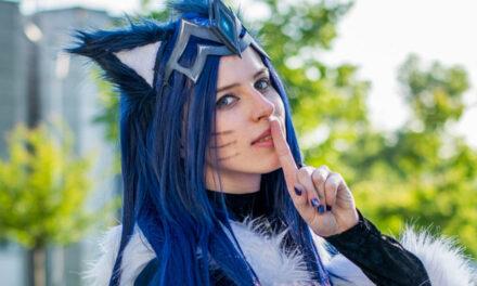 Photoshoot: Midnight Ahri (League of Legends - Rókuc Cosplay)