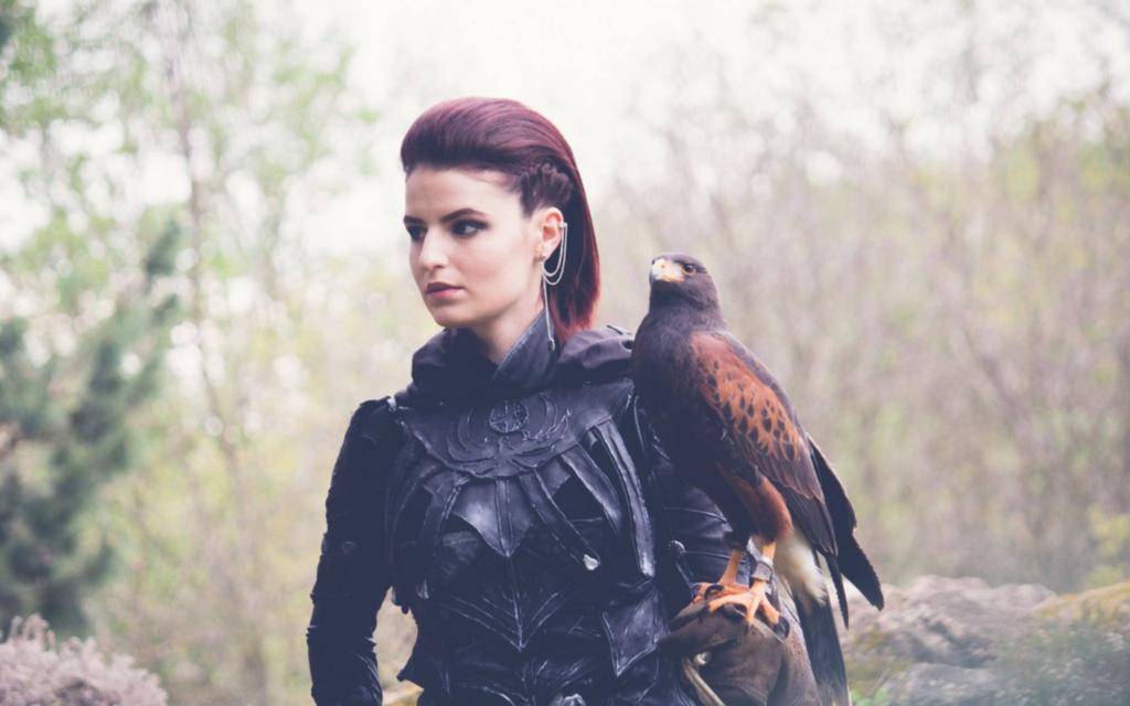 Photoshoot: Nightingale (Skyrim – Liena)