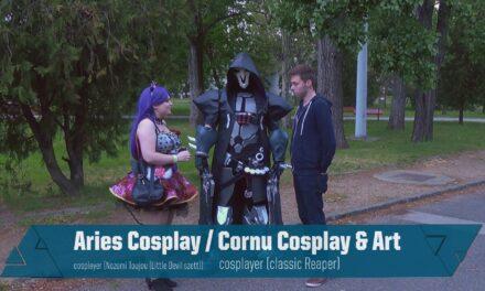 COSPLAYES VILLÁMINTERJÚ – Aries Cosplay & Cornu Cosplay and Art
