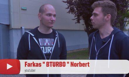 "PLAYIT YOUTUBER VILLÁMINTERJÚ – Farkas ""BTURBO"" Norbert"