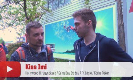 PLAYIT YOUTUBER VILLÁMINTERJÚ – Kiss Imi