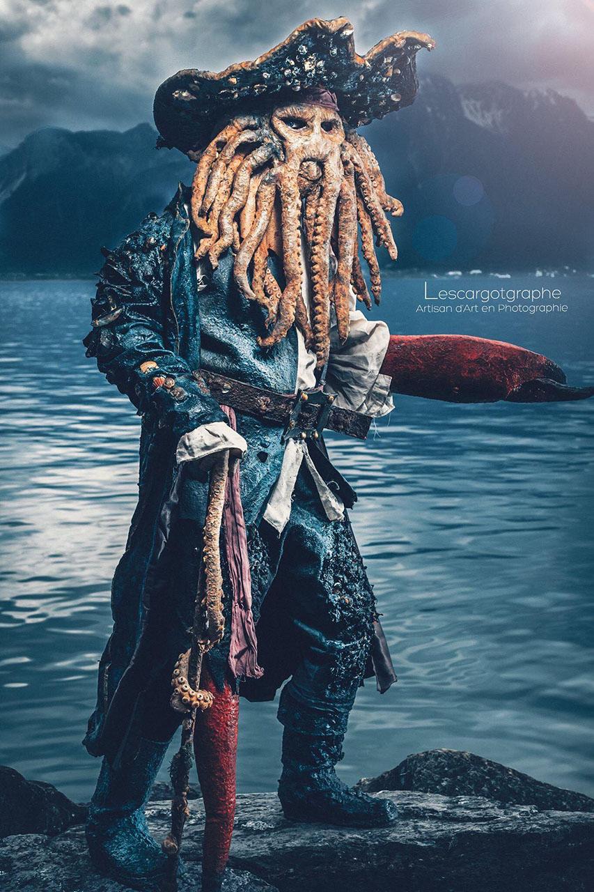 Davy Jones a Karib-tenger Kalózaiból
