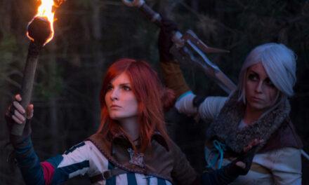 Photoshoot: Triss & Ciri (The Witcher 3 - Nezrenael & Dorachin)