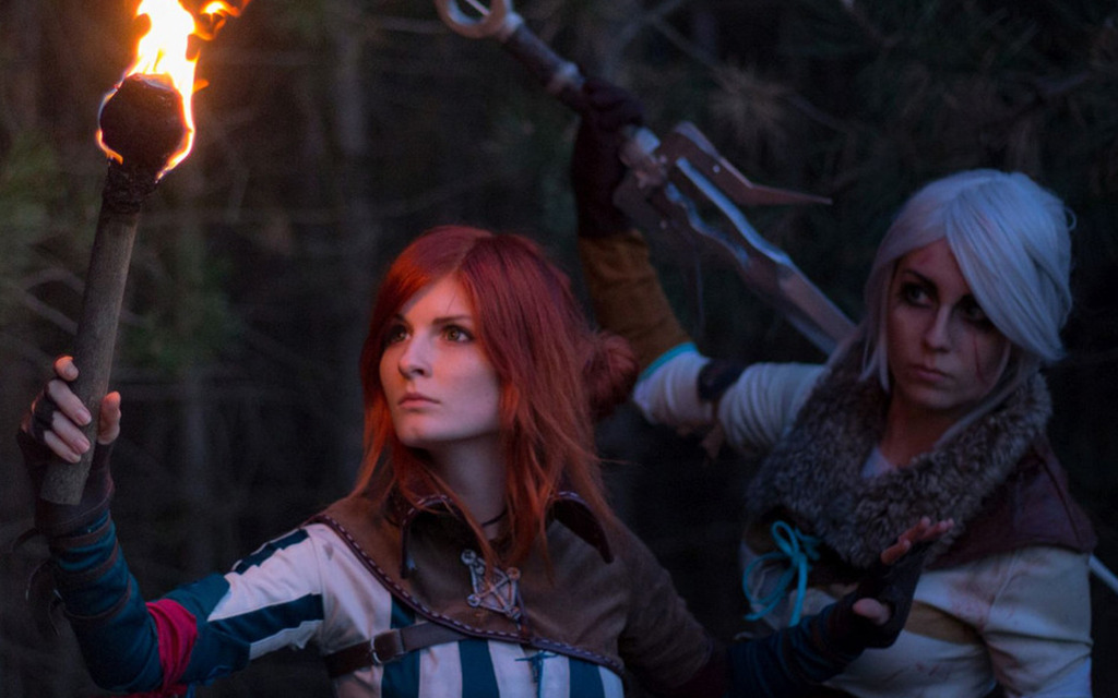 Photoshoot: Triss & Ciri (The Witcher 3 – Nezrenael & Dorachin)