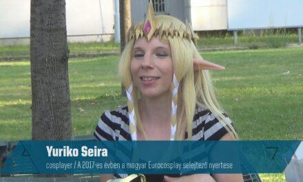 COSPLAYES VILLÁMINTERJÚ – Yuriko Seira (a magyarországi, EuroCosplay selejtező utáni interjú)