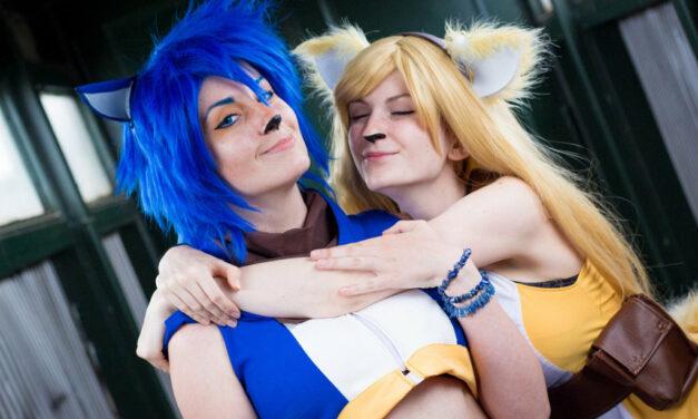 Photoshoot: Sonic & Tails (Dorachin & Nezrenael)