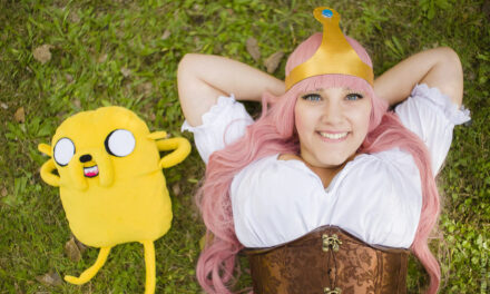 Photoshoot: Bubblegum Princess (Adventure Time - LadyZakuro)