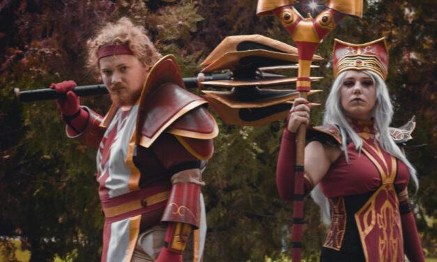 Photoshoot: High Inquisitor Whitemane & Scarlet Commander Mograine (World of Warcraft – Hinna és Ikari)