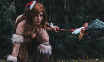 Photoshoot: Nidalee (League of Legends - Rókuc Cosplay)