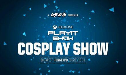 Xbox One PlayIT Show Budapest Cosplay Show felvétele