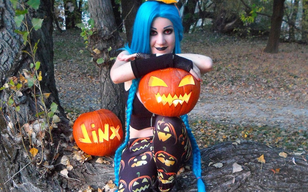 Photoshoot: Halloween Jinx (League of Legends – Pilly)