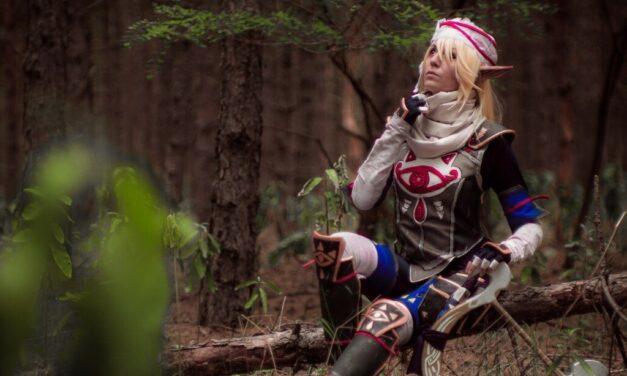 Photoshoot: Sheik (The Legend of Zelda – Dorachin)