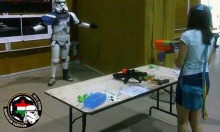 A Blast-a trooper játék, az 501-es Légió Magyarországi Helyőrség tagjaival a Playit-en.