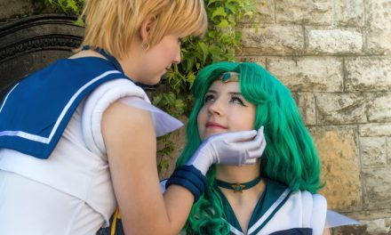 Photoshoot: Sailor Neptune és Sailor Uranus (Sailor Moon - Meriel és Saku)