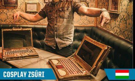 Az Xbox One PlayIT Show Budapest cosplayverseny zsűrink harmadik tagja Zackary!