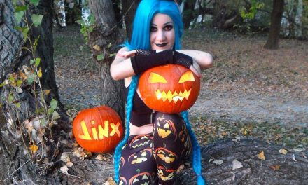 Photoshoot: Halloween Jinx (League of Legends - Pilly)