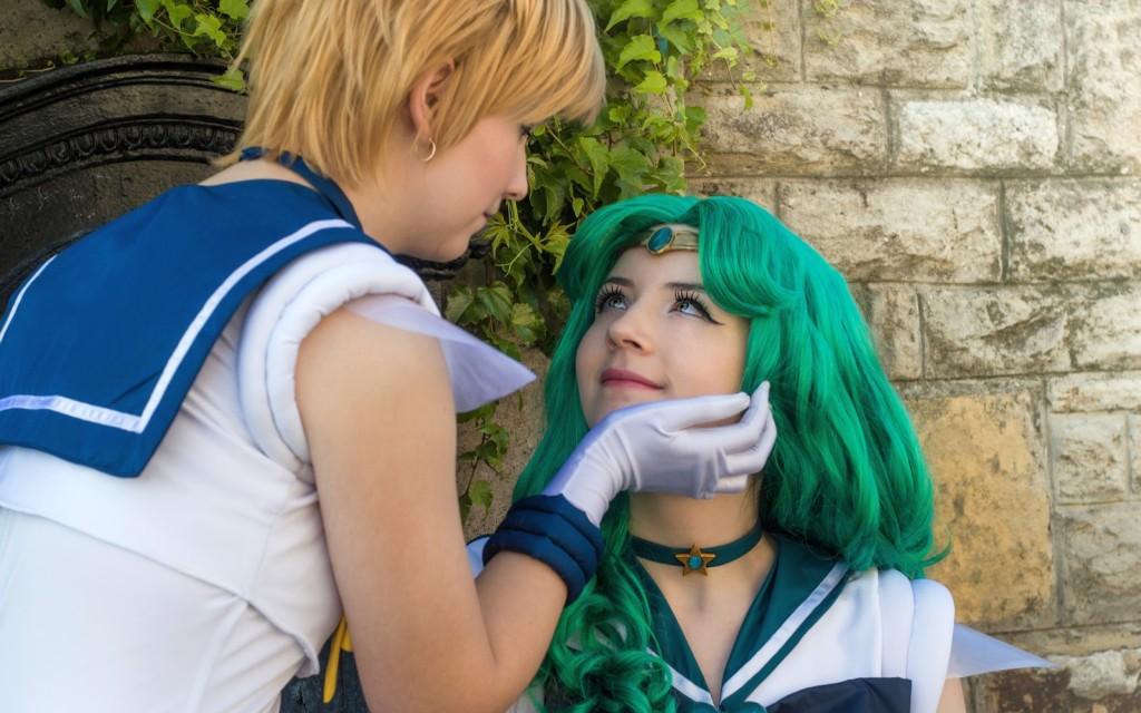 Photoshoot: Sailor Neptune és Sailor Uranus (Sailor Moon – Meriel és Saku)