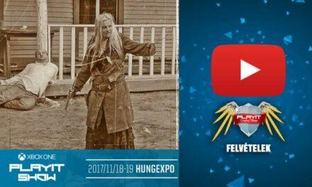 PLAYIT SHOW BUDAPEST 2017-NOV – Cosplay Village (1. nap) – 03 – Aljas Daisy billincsben! – western előadás