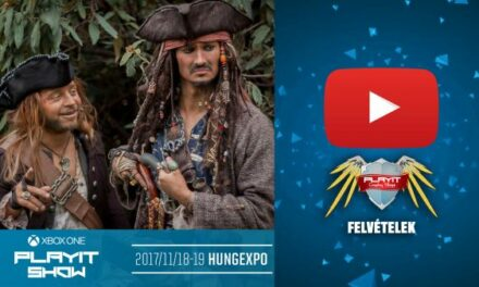 PLAYIT SHOW BUDAPEST 2017-NOV – Cosplay Village (1. nap) – 04 – A Karib-tenger kalózai – A cosplayerek nem mesélnek