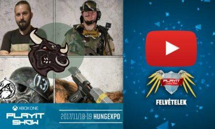 PLAYIT SHOW BUDAPEST 2017-NOV – Cosplay Village (1. nap) – 05 – Kezdő cosplayesek kalauza [Tulok Arms előadása]