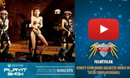 PLAYIT SHOW BUDAPEST 2017-NOV – Kinect Star Wars: Galactic Dance Off (cosplayesekkel)
