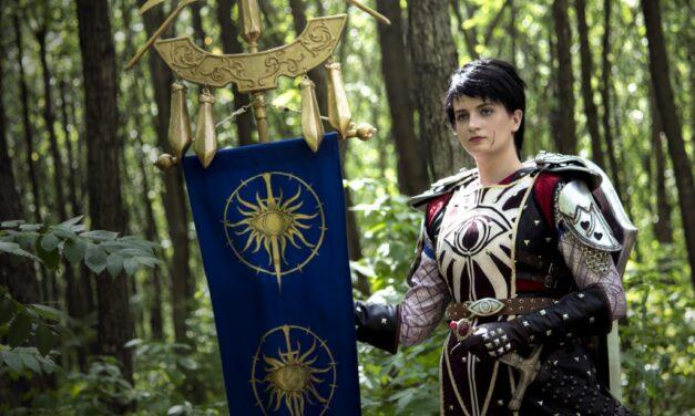 Photoshoot: Cassandra Allegra Portia Calogera Filomena Pentaghast (Dragon Age Inquisition – Paszuly)