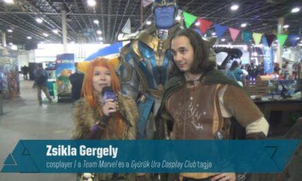 COSPLAYES VILLAMINTERJÚ – Zsikla Gergely