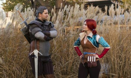 Photoshoot: Triss Merigold és Riviai Geralt (The Witcher 3 - Raving Gamers CosplayTeam)