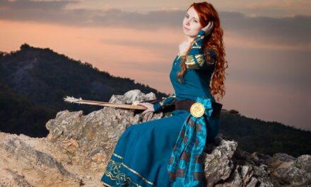 Photoshoot: Merida (Merida, a bátor - Bauer Fatime)