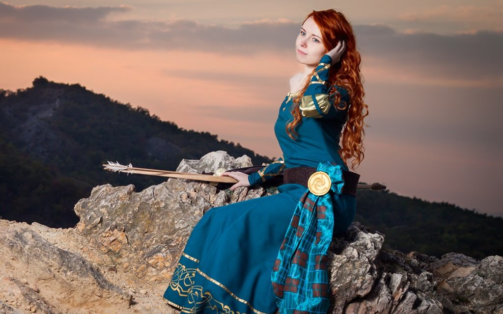 Photoshoot: Merida (Merida, a bátor – Bauer Fatime)