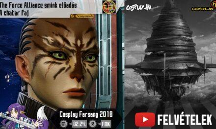 2018 COSPLAY FARSANG FELVÉTELEK – A chatar faj (előadó: Bálint Diána, The Force Alliance)