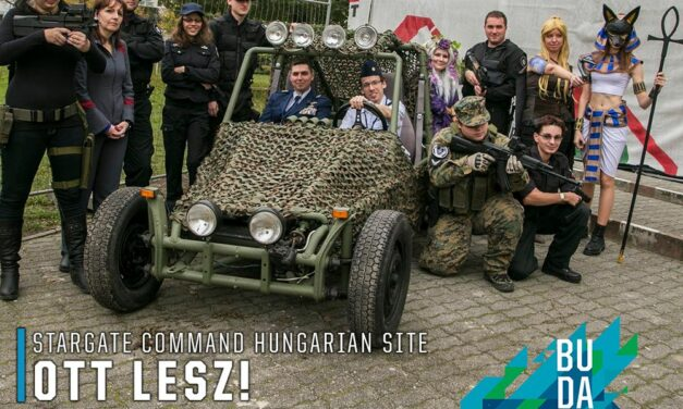 2018 NYÁRI PLAYIT SHOW BUDAPEST – STARGATE COMMAND HUNGARIAN SITE OTT LESZ!