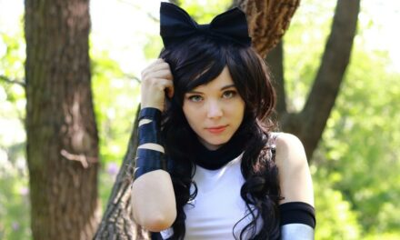 Photoshoot: Blake (RWBY - Bunnie M Bubbles)