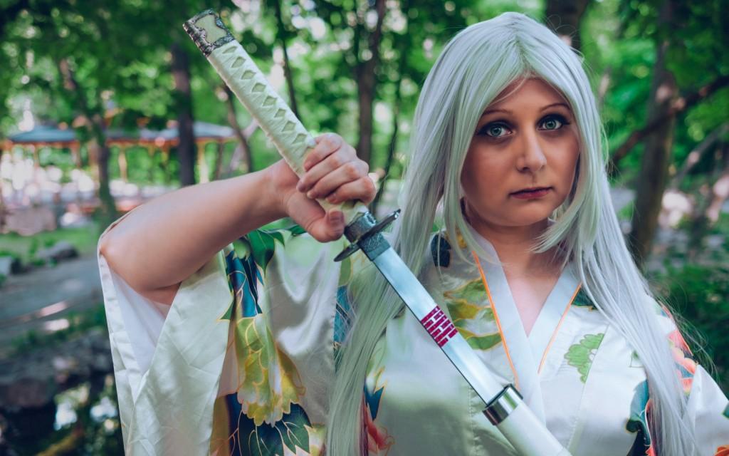 Photoshoot: Samurai Girl (Original – Catleen)