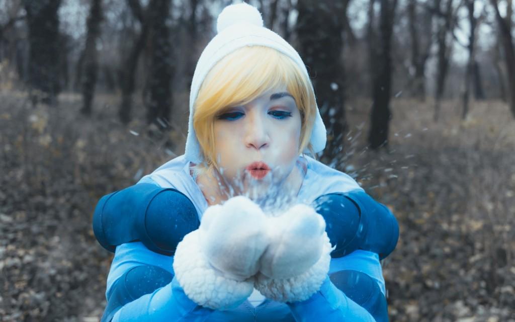 Photoshoot: Winter Wonder Orianna (League of Legends – Glanden)