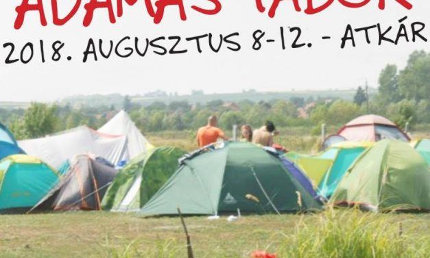 Vár mindenkit idén is augusztus 8 – 12. , Atktáron, az Adamas Tábor!