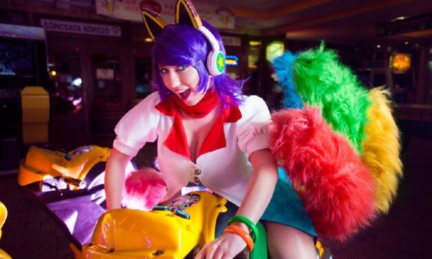 Photoshoot: Arcade Ahri (League of Legends – Suisen)