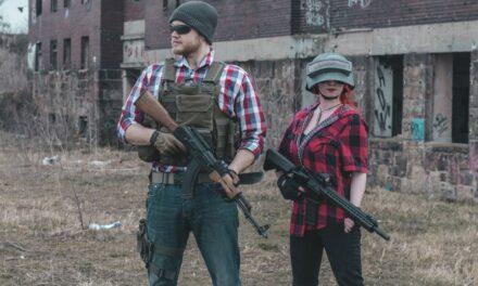 Photoshoot: Playerunknown's Battlegrounds (Suisen és Zolen Cosplay)