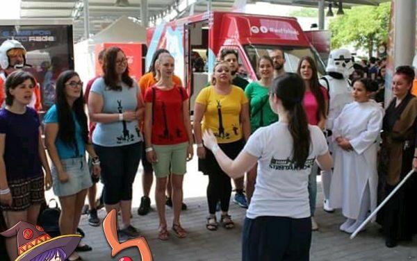 A Street Art Choir & a TFA közös fellépése a Nagyszínpadon!