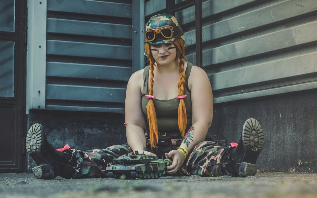 Photoshoot: Sgt. Hammer (Heroes of the Storm – Roxanne Ravenwood)