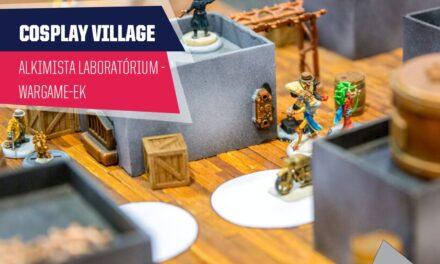 PlayIT Show Budapest – Cosplay Village: A wargame-ek is képviseltetik magukat, az Alkimista Laboratórium jóvoltából!