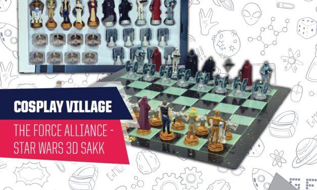 PlayIT Show Budapest – Cosplay Village: Gyere és állj ki a Sith Nagyúr ellen, egy izgalmas Star Wars 3D sakk meccsben!
