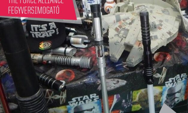 PlayIT Show Budapest – Cosplay Village: Fegyver- és droid simogató a The Force Alliance pultjánál!