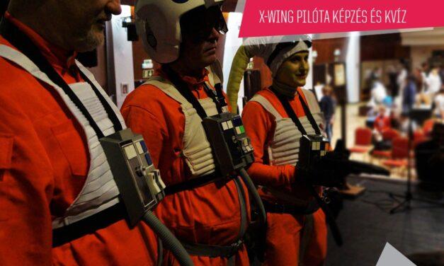 PlayIT Show Budapest – Cosplay Village: X-Wing pilóta kiképzést és kvíz, a The Force Alliance-tól.
