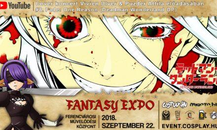FANTASY EXPO 2018 felvételek – Cover koncert Vivien Ulver & Puzder Attila előadásában