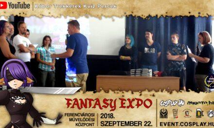 FANTASY EXPO 2018 felvételek – Kóbor Trekkerek Kvíz Percek