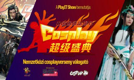 CICAF 2019 – Nemzetközi cosplayverseny válogató a PlayIT Show Budapesten!