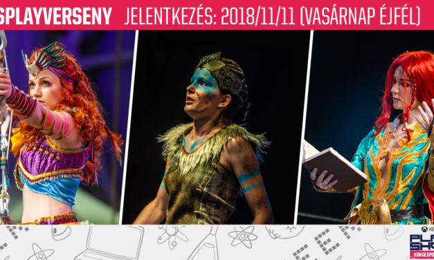 2018 Őszi PlayIT Show – Cosplayverseny