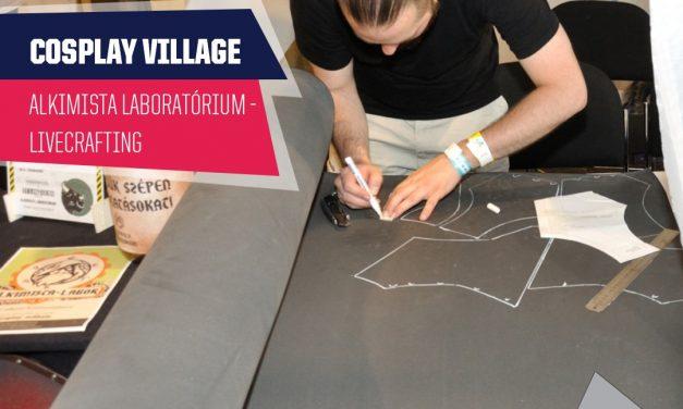 PlayIT Show Budapest – Cosplay Village: Livecrafting az Alkimista Laboratórium pultjánál!